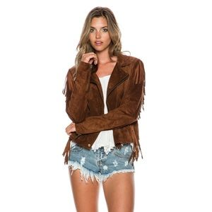 Volcom | Persuede Me Leather Jacket